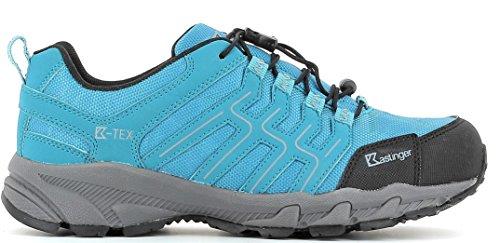 kastinger kastinger Trail Run impermeabile uomo e donna Outdoor della scarpa, K Gore-Tex ® per Impermeabilità e traspirazione, lacci Rung, Multi Sport Scarpa peacockblue