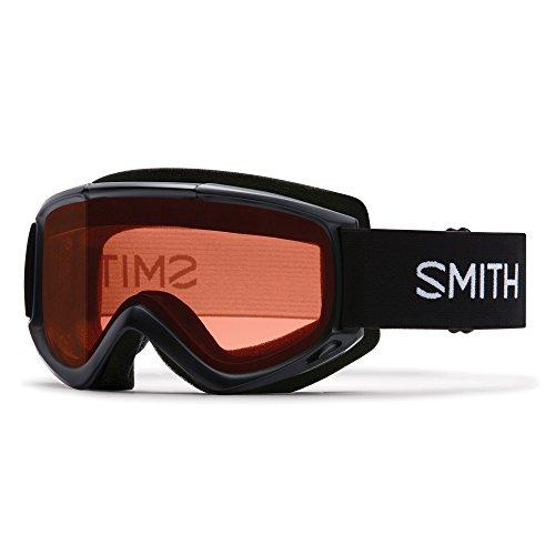 Smith Wasserfall Classic M00639ZW9998K Skibrille, schwarz (Burton-schaum)