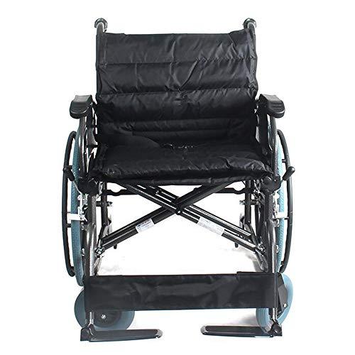 SHOWGG Convient pour Big Fauteuils roulants Obese Personnes, Freins à Attendant, Facile à Installer et la libération, Les Personnes âgées, handicapés, réadaptation Assistance médicale