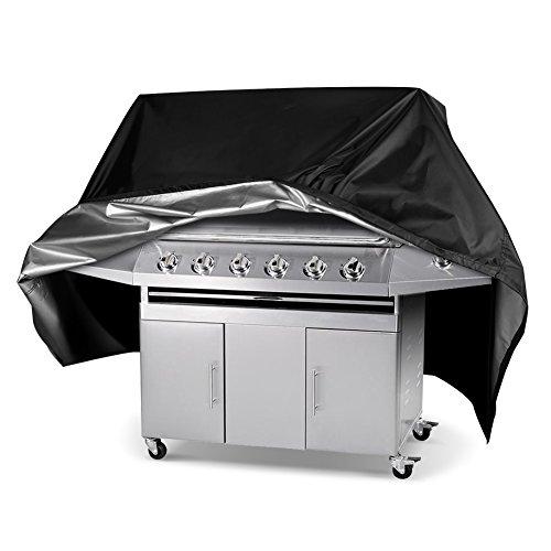 Ghb coperchio copri barbecue copertina barbecuecopertura barbecue telo di copertura per barbecue telo protettivo per barbecue-nero