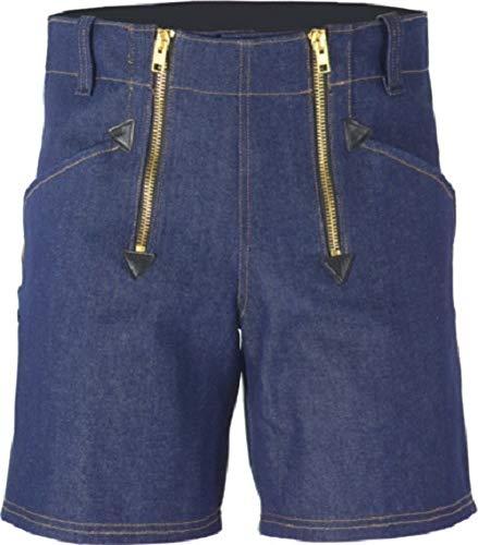 JOB Dachdecker Zimmermann Zunft-Shorts Kurze Hose Jeans blau -