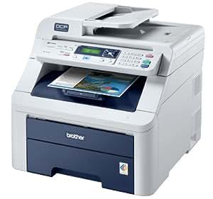 Brother DCP-9010CN Imprimante Multifonction couleur LED 250 feuilles USB
