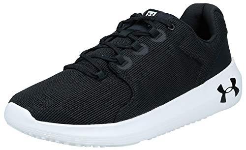 Under Armour UA Ripple 2.0, Zapatillas de Running para Hombre, Negro Black/White/Black 002 002...