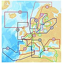 Carte Navionics Platinium+ XL3 Europe Zone 31