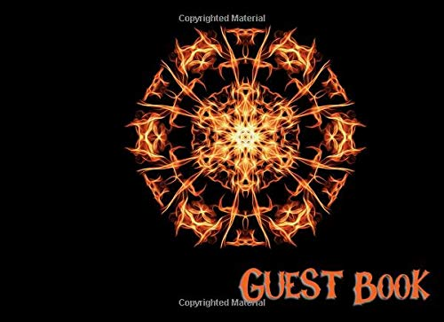 Guest Book: Not just for Halloween! Sign-in Guest Registry Book For Spooky Parties And Meetups (Spooky Events Books, Band 4)