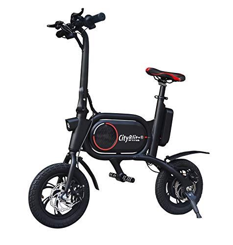 Cityblitz Bike-Scooter, schwarz, One Size