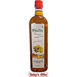 Farm Naturelle (Farm Natural Produce) Cold Pressed Virgin Kachi Ghani Virgin Mustard Oil (915Ml)