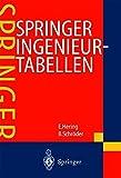Image de Springer Ingenieurtabellen