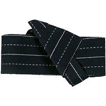 OBI cinturón para hombre japonés Obi cinturón banda Kimono Yukata (actualización) gamuza algodón azul oscuro Vintage auténtico