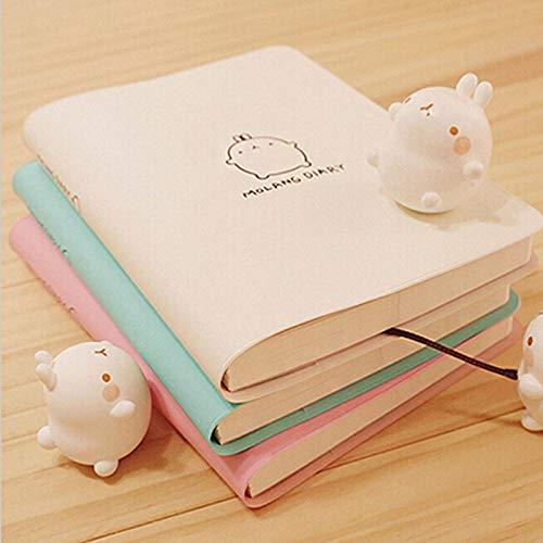 eder Spirale lose Blatt nachfüllbar Softcover tragbare NotebookPlaner Veranstalter Agenda Zeitplan Notizblock Binder A6 ()
