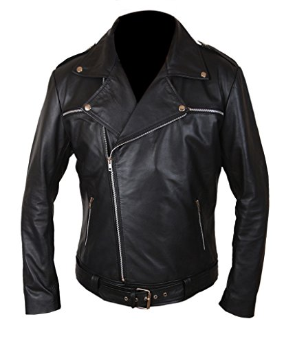 F&H Men's The Walking Dead Negan Jacket Black