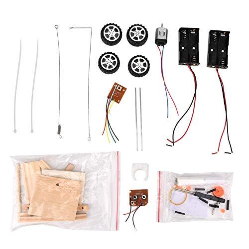 Zerodis Montage Auto Modell DIY Montiert RC Auto Spielzeug Elektrische Fernbedienung Fahrzeug Kit Kinder Handgemachte Playset Pädagogisches Experiment Set für Kinder - Modell Sport Kit Spielzeug Auto