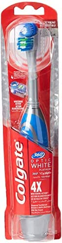 Colgate Power Toothbrush 360 Optic White ' 12 Units - Assorted Colors