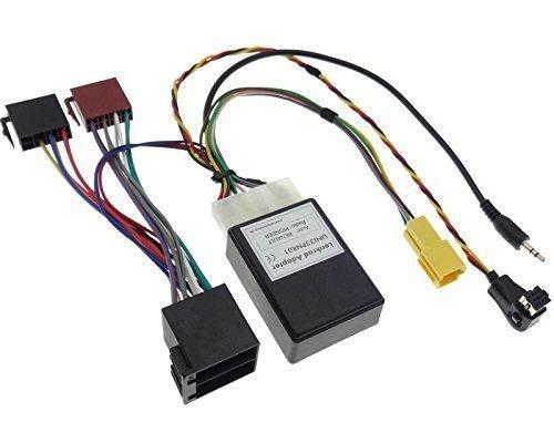 Lenkrad Fernbedienung +DISPLAY RENAULT PIONEER Interface Radio Kabel Stecker ISO