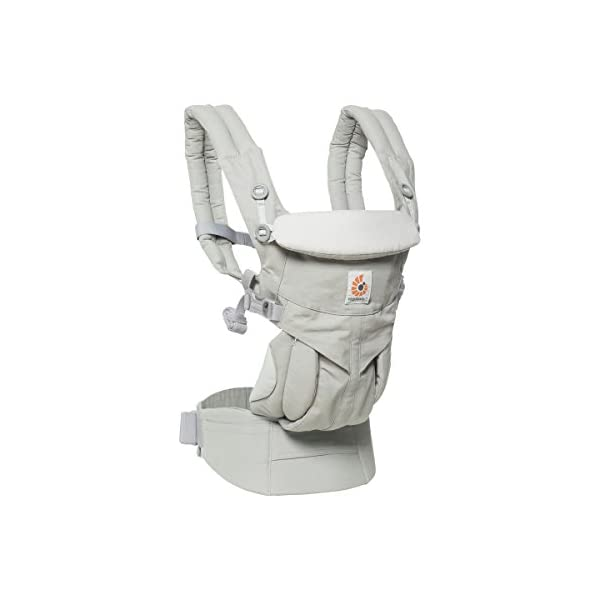 ErgoBaby Omni 360 Baby Carrier (Pearl Grey) Ergobaby Flexibility: Accommodates all carry positions: front facing parent, front facing out, hip, and back Adapts to baby's growth: Newborn to toddler (7-33 lbs / 3.2-15 kg), no infant insert needed Exceptional comfort: Longwear comfort with lumbar support waistbelt and extra cushioned shoulder straps 1