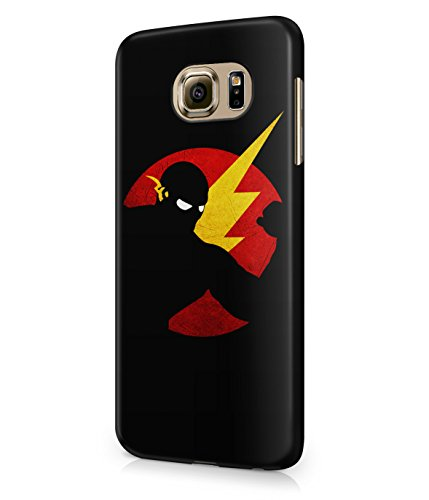 The Flash Justice League Superhero Comics Grunge Plastic Snap-On Case Cover Shell For Samsung Galaxy S6