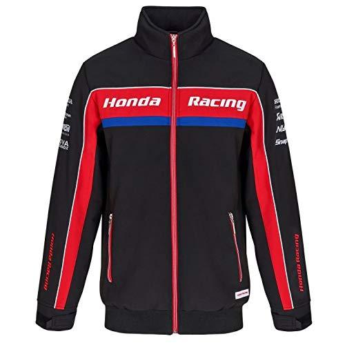 Honda Racing British Super Bikes BSB Soft Shell Chaqueta Negro Oficial 2019