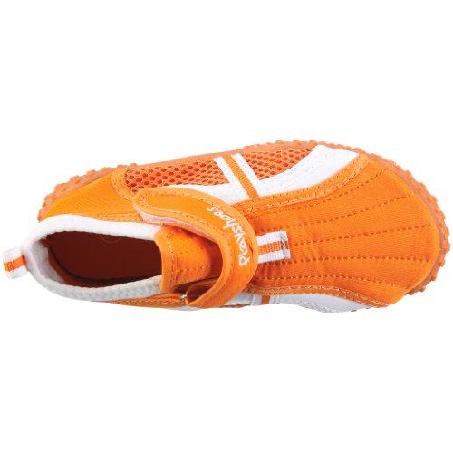 Playshoes UV-Schutz Aqua-Schuh sportiv 174798, Sandales mixte enfant Orange (Orange)