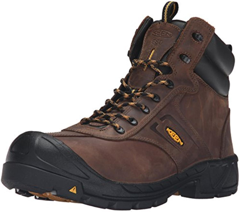 Keen Utility Men's Warren ESD Work Boot  Dark Earth  10.5 W US