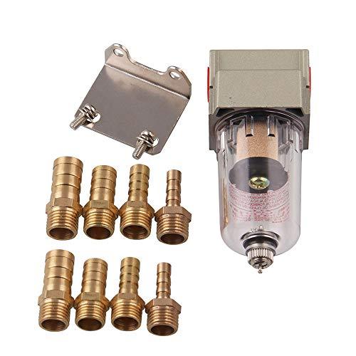 FOCCTS - Kit di Separatori per Olio Motore, Serbatoio dell'Aria, Piccolo Filtro sottovuoto modificato, Filtro dell'olio per Auto per Honda Civic Acu