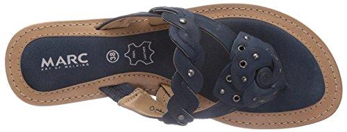 Marc Shoes 1.698.03-02/795-Mimi, Infradito donna Blu (Blau (navy 795))