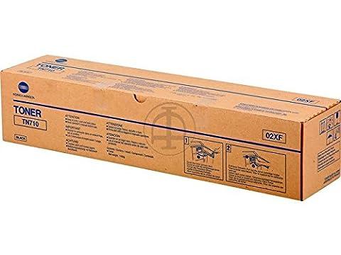 Konica Minolta 02XF Bizhub 600 TONER TN710, 43000 Pages, Black