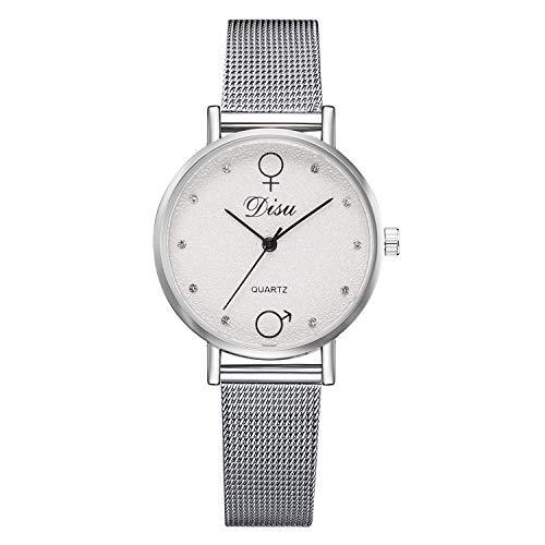 XZDCDJ Damen Armbanduhr Mode Beiläufige Trend spezielle schattierung zifferblatt Legierung Strap Damen quarzuhr Frau Uhren Billig