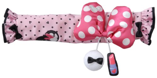 Disney ribbon mode stroller safety bar cover (japan import) (Stroller Bar Toy)