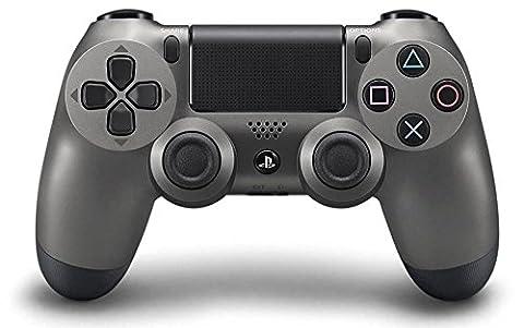 PlayStation 4 - DualShock 4 Wireless Controller, Steel Black (Sony Playstation 4 Preis)