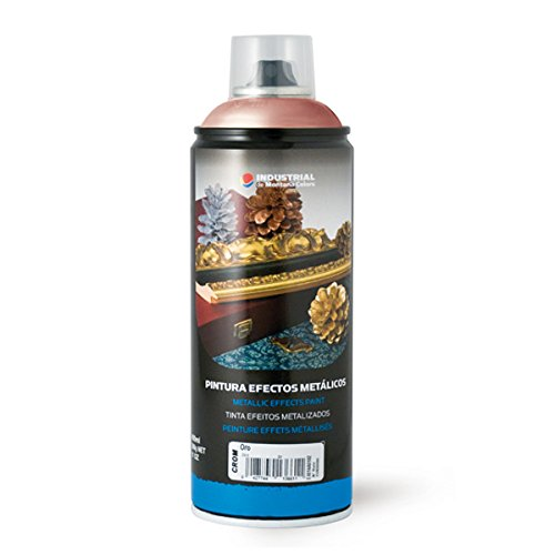 Montana Colors MTN Industrial Spray Cobre Cromado 400ml - Spray con Ef