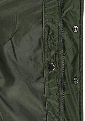 !Solid Safi Herren Steppjacke Übergangsjacke Jacke Mit Stehkragen, Größe:S, Farbe:Rosin (3400) - 6