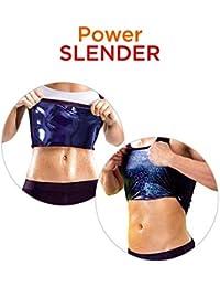 Power Slender Camiseta Reductora De Alta Compresión Térmica para Adelgazar - Modelos para Hombre y Mujer Tallas S/M y L/XL (S/M, Mujer)