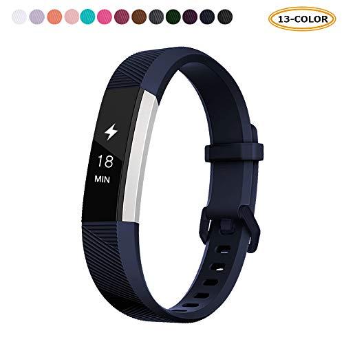 FatcatBand Fitbit Alta HR und Fitbit Alta Armband, Klassisch Verstellbares Ersatz weiches Silikon Sporty Wrist Strap Band Schlaufe Armbänder für Fitbit Alta HR und Alta Smartwatch