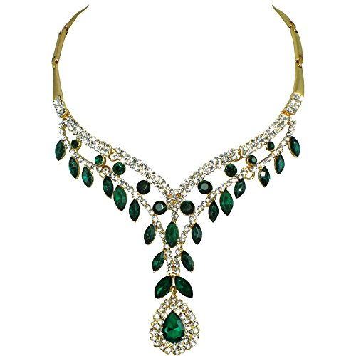 ritz-esmeralda-y-tono-de-oro-collar-de-brillantes-de-cristal-transparente-con-la-caja-de-regalo