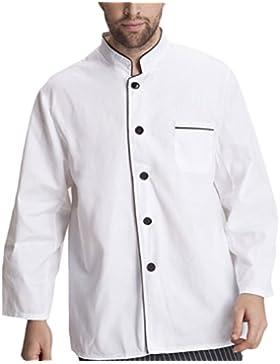 Zhuhaitf Alta calidad Unisex Advanced Chef Uniform Long Sleeve Antifouling Work Clothes