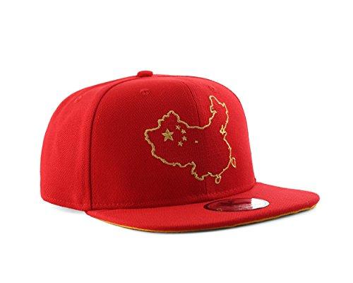 Underground Kulture World Edition Country Snapback Baseball Cap Gr. Einheitsgröße, China
