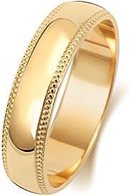 Anello Fede Nuziale Uomo/Donna 5mm in Oro giallo 18k (750) WJS1880418KY