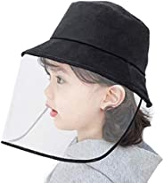 Anti-Saliva Protective Cap Windproof Full Face Shields Anti-dust Head Protector Stylish Fisherman Hat