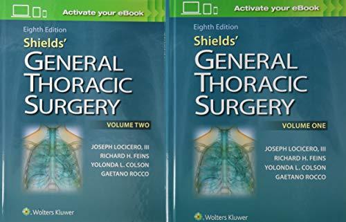 Shields' General Thoracic Surgery por Joseph Locicero