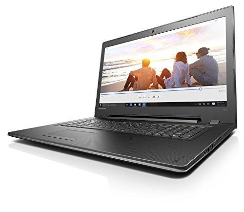"Lenovo IdeaPad 300 1.6GHz 3855U Intel Celeron 17.3"" 1600 x 900Pixel Nero Computer portatile"