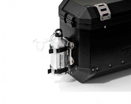 Flaschen-Kit TraX , silber 1 Aluminiumflasche (0,6 l) Motorrad