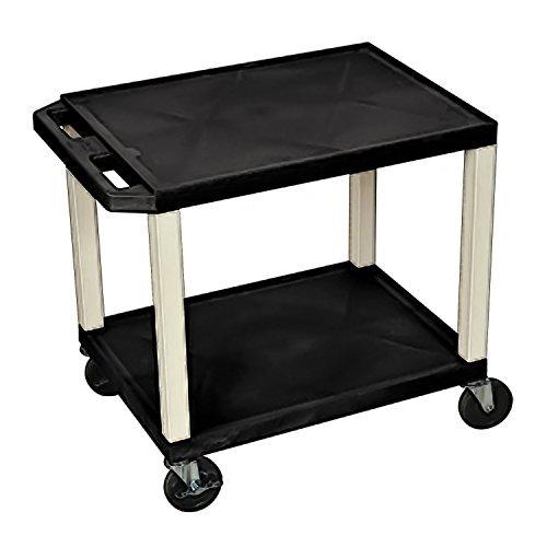 H Wilson WT26E mobili multiuso Serving cart, Black by H Wilson