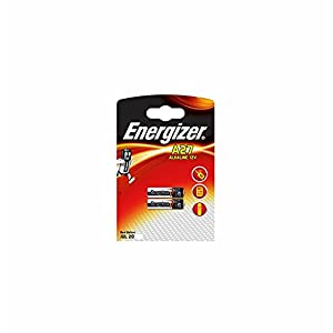 Energizer Alkaline 12v Battery A27 (pack of 2 )