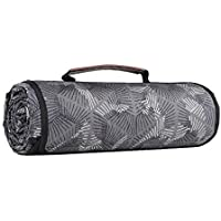 Sekey Manta de Picnic Lavable a Máquina, Manta de Camping Impermeable, Manta de Playa Compuesta de Tres Capas (150D Poliéster, Algodón y 210D Oxford), 170 X 140 cm