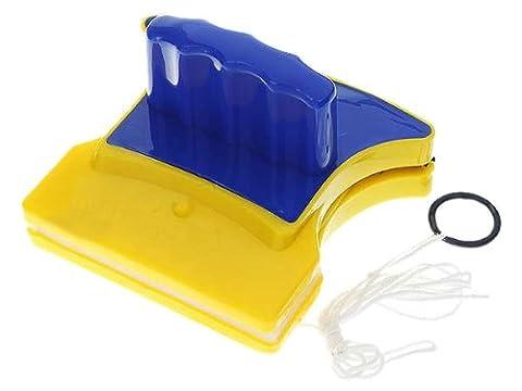 Lave Vitre Magnetique - Vococal® Forme Carrée Double-Côté Magnétique Nettoyant à