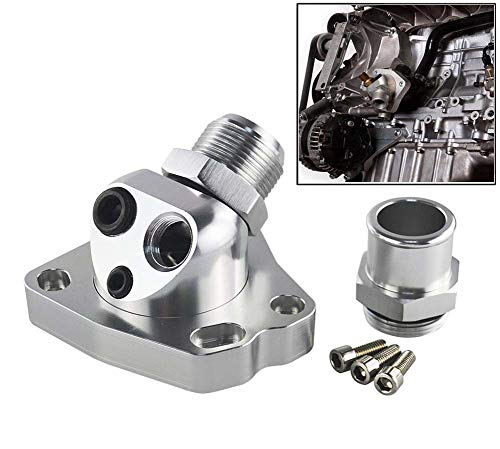 Npt Swivel-adapter (SHIMOTOO Universal K20 & K24 Auto Motorkühlung Komponenten Swivel Neck Thermostatgehäuse (K20 & K24))