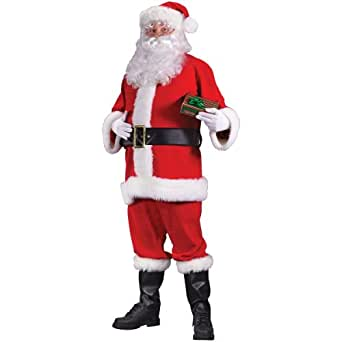 Fun World Costumes Santa Suit Economy Costume