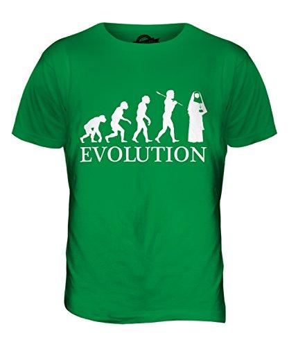 CandyMix Suora Evoluzione Umana T-Shirt da Uomo Maglietta Verde
