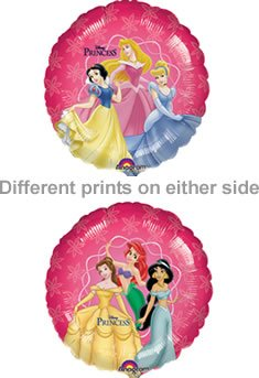 Disney Princess Amscan 0819301 18 Magic Folie Ballon