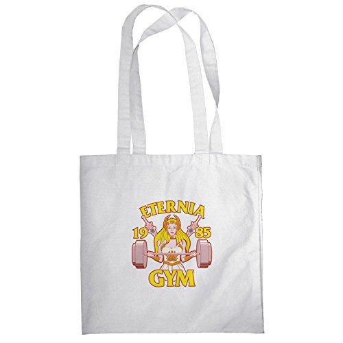 Texlab–She Fitness 1985–sacchetto di stoffa Bianco